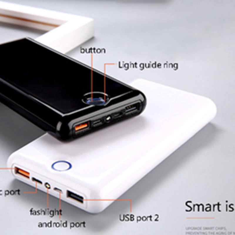 Power Bank 30000mah QC 3.0 Quick Charge Powerbank 30000 Mah 9V 2A 12V 1.5A for IPhone X Xiaomi Mi8 Samsung S9 Nexus 6p