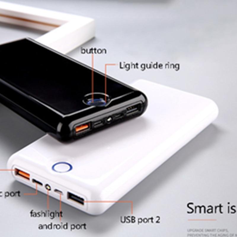 Batterie externe 30000 mah QC 3.0 chargeur rapide 30000 Mah 9 V 2A 12 V 1.5A pour IPhone X Xiaomi Mi8 Samsung S9 Nexus 6 p