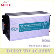 MKP3000-122 High Quality Dc-Ac Off Grid Type Pure Sine Wave Inverter 12v 220v 3000w Power Converters LED Digital Display China