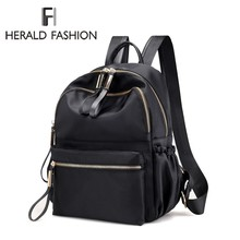 b64b7e241e43 Herald Fashion Backpack Women Leisure Back Pack Korean Ladies Knapsack Casual  Travel Bags for School Teenage