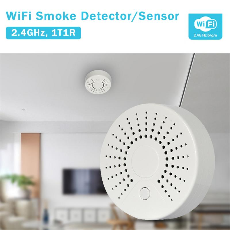 Wireless Fire Protection Smoke Detector Portable Alarm Sensors For Home School Store Security Alarm System Store