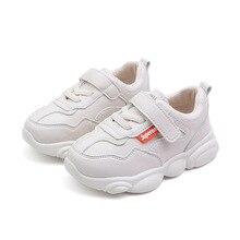 a958688f54 Zapatos para niños 2019 primavera Pequeño Oso suela niños zapato blanco  marca niñas zapatillas Casual deporte