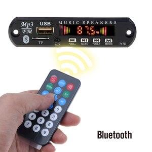 Image 5 - Kebidu Bluetooth 5V 12V MP3 WMA Xe Bộ MP3 Người Chơi Bộ Giải Mã Ban Đài FM TF USB AUX 3.5 Mm Bộ Thu Âm Thanh