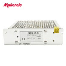 50W NES Series High Efficiency Switching Power Supply For LED Strip Light AC-DC цена
