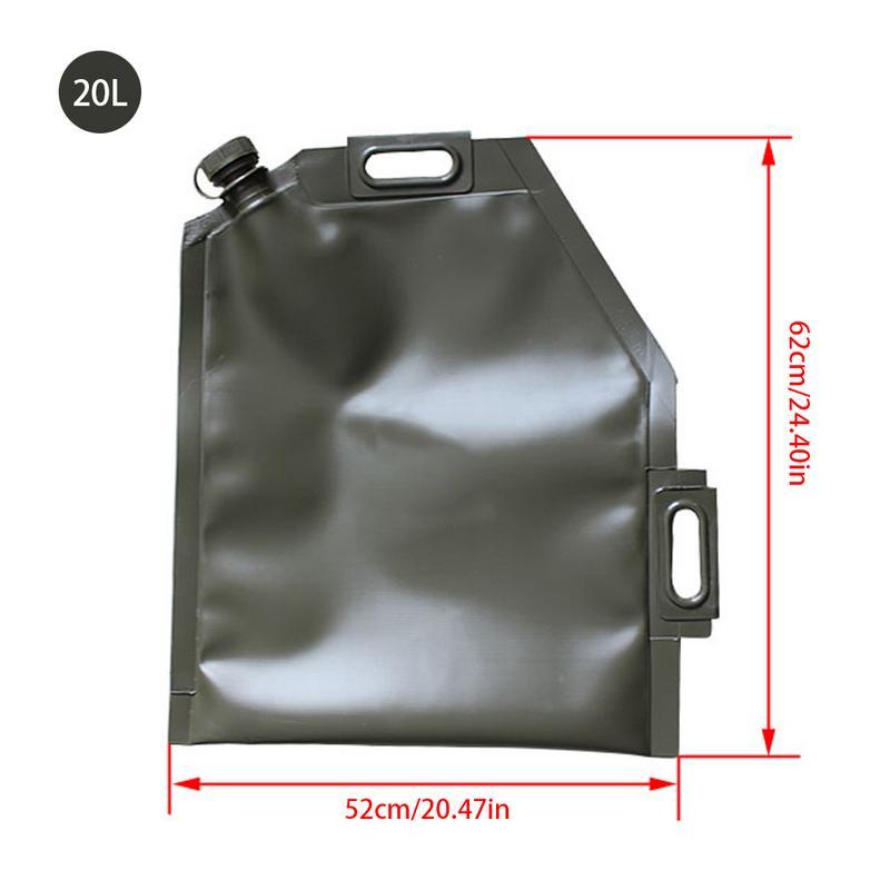 10L 20L 30L Portable bidon pour huile De Voiture Moto Réservoir De Carburant De Rechange Camping En Plein Air Touring accessoire voiture Moto sac d'huile