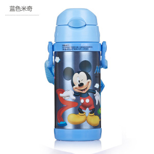 Image 2 - Disney Cute Cartoon 2019 New Fashion Portable Heat Preservation Cup Children Stainless Steel Sucker Water Kettle With Water Cup