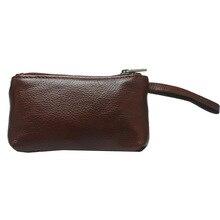 Mini-pocket Bus Card Bag Double Zipper Coin Handler Handles Scattered Wallet