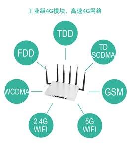 Image 2 - Router wifi lte 4g 3g với sim khe cắm thẻ ăng ten bên ngoài 11AC 1000 Mbps 5G băng tần kép repeater lưới bao gồm 130 mét vuông