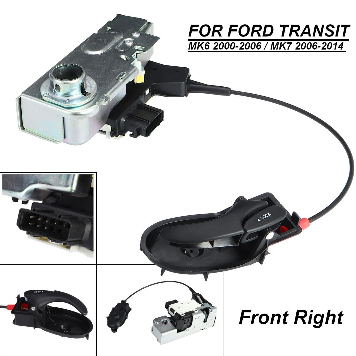 Serrure de porte avant droite côté conducteur/côté arrêt pour FORD TRANSIT MK6 MK7 2000-2014