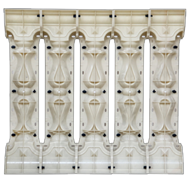 New design ABS plastic concrete pillar fence mould AA6 baluster mold