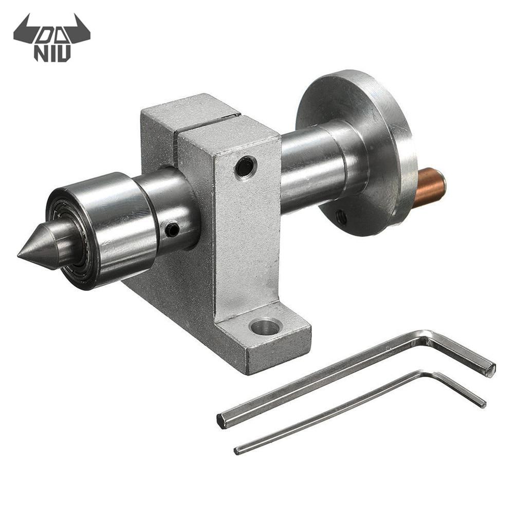 Mini Lathe Woodworking 6 mm Revolving Center Head Steel DIY Accessories Tools