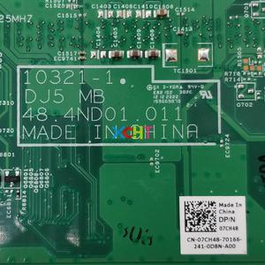 Image 5 - for Dell Vostro 131 7CH48 07CH48 CN 07CH48 10321 1 48.4ND01.011 i3 2350M Laptop Motherboard Mainboard Tested & Working Perfect