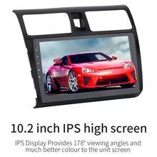 מולטימדיה לרכב נגן אנדרואיד 8.0 Autoradio MP5 רדיו מצלמה 1 דין 10.2in 1080 מגע מסך עבור סוזוקי סוויפט 2005-10