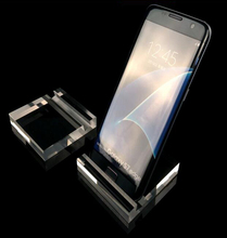 5pcs Hot sale Acrylic mobile cell phone display stand phone bracket jewelry counter combination tray Digital product holder rack цена и фото