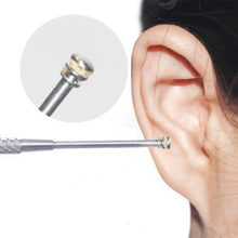 1 Pc Spiral Ear Wax Removal Tool Smart Ear Cleaner Earpick Stainless Steel Earpick Wax Remover Ear Cleaning Spoon(China)