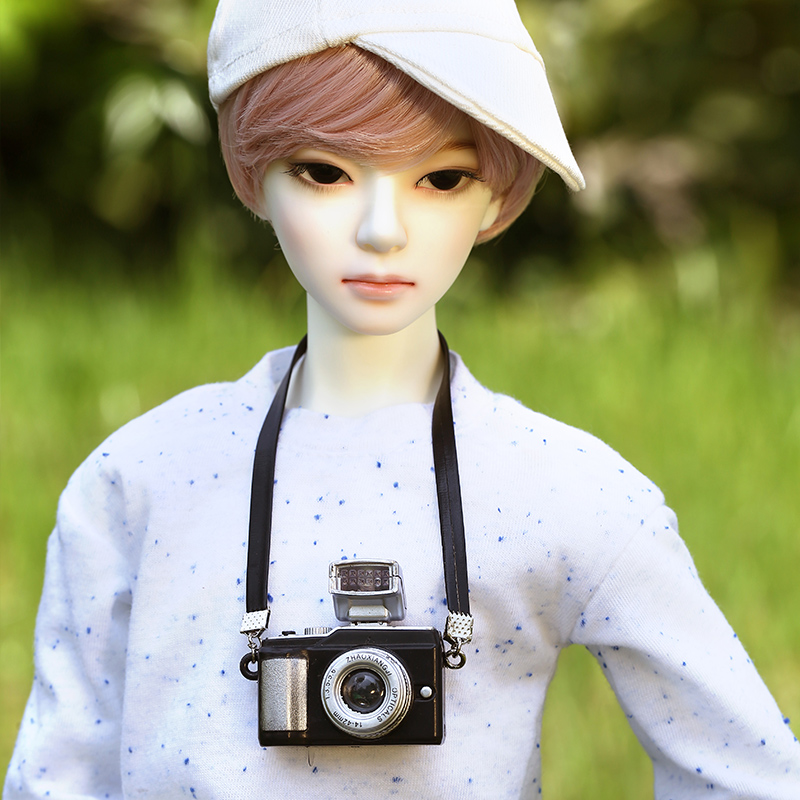 DistantMemory Hwayoung Doll BJD 1/3 Clam Passion Romantic Male Resin Figure Toys For Girls Fabulous Gift