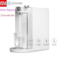Dispensador de agua caliente instantáneo inteligente Xiaomi SCISHARE 3 segundos para calentar la temperatura del agua fuente de bebida ajustable L S2101