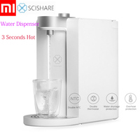 Xiaomi SCISHARE Smart Instant Hot Water Dispenser 3 Seconds Heating Water Temperature Adjustable Drinking Fountain 1.8L S2101