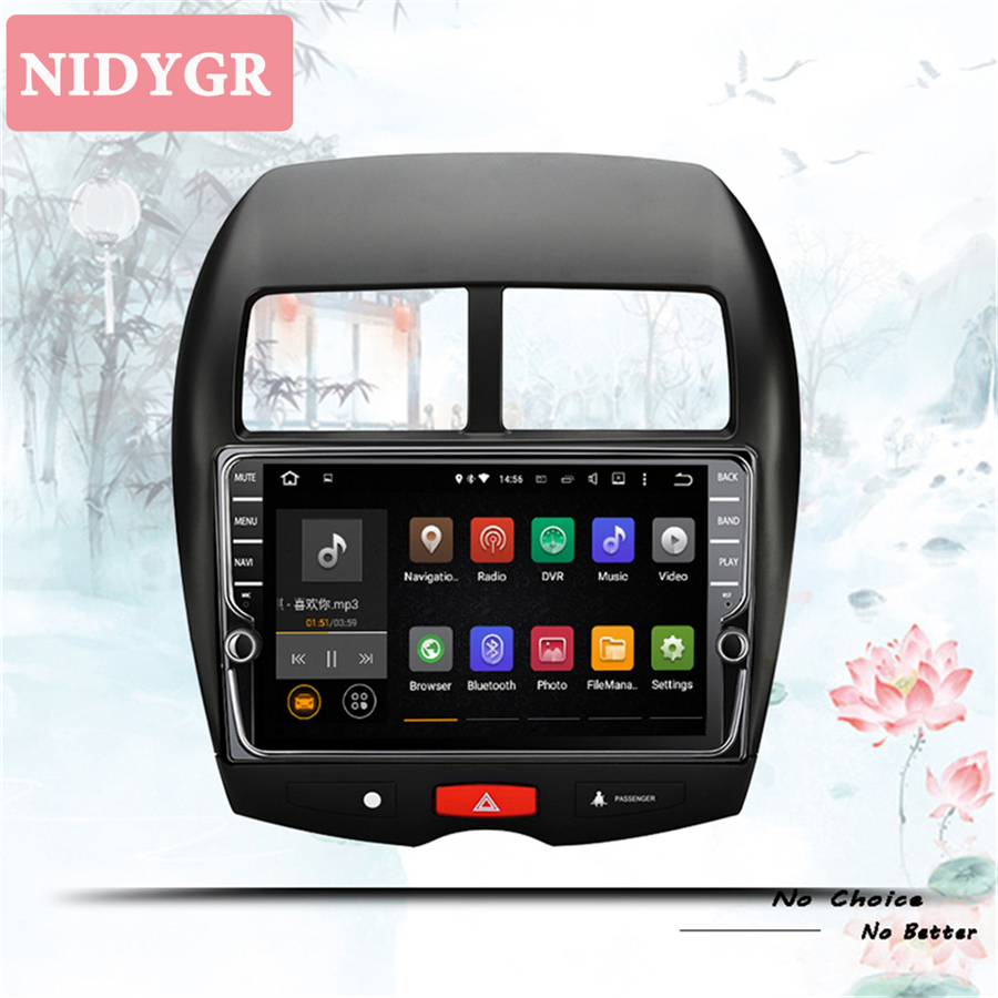 IPS android 10.0 car dvd player gps navigation for Mitsubishi ASX 2011-2019 car radio stereo dvd Tape Recorder System DSP