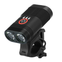Bicycle Head Light Super Bright Double LED Bike USB Rechargeable Waterproof Lamp Safety Warning