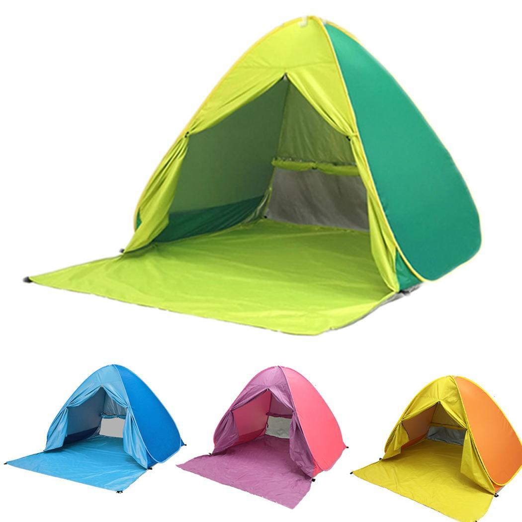 New Fully Automatic 2 Second Speed Open Outdoor Camping Beach Tent Anti UV Awning Tents Outdoor SunshelterNew Fully Automatic 2 Second Speed Open Outdoor Camping Beach Tent Anti UV Awning Tents Outdoor Sunshelter