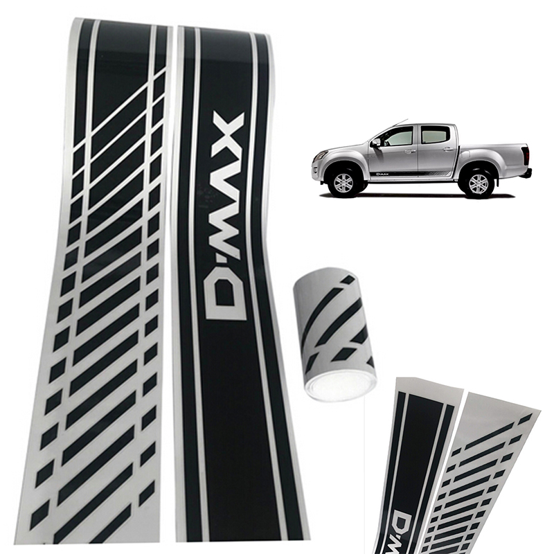2x Vehicle Side Body Waterproof Vinyl Decal DIY Car Styling Decoration Sticker