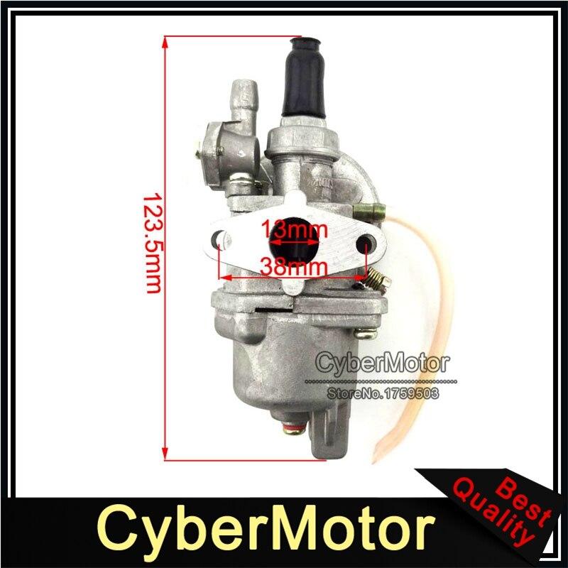 STONEDER 44mm Cylinder Head For 2 Stroke 49cc Engine Parts Chinese Minimoto Pocket Dirt Bike Mini Kids ATV Quad Baby Crosser