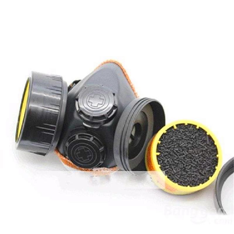 (solo Filtro) Máscara De Gas Militar Filtro De Pesticida Cartucho De Caja De Carbón Activo Químico Pintura Antipolvo Que Combina Con Respirador