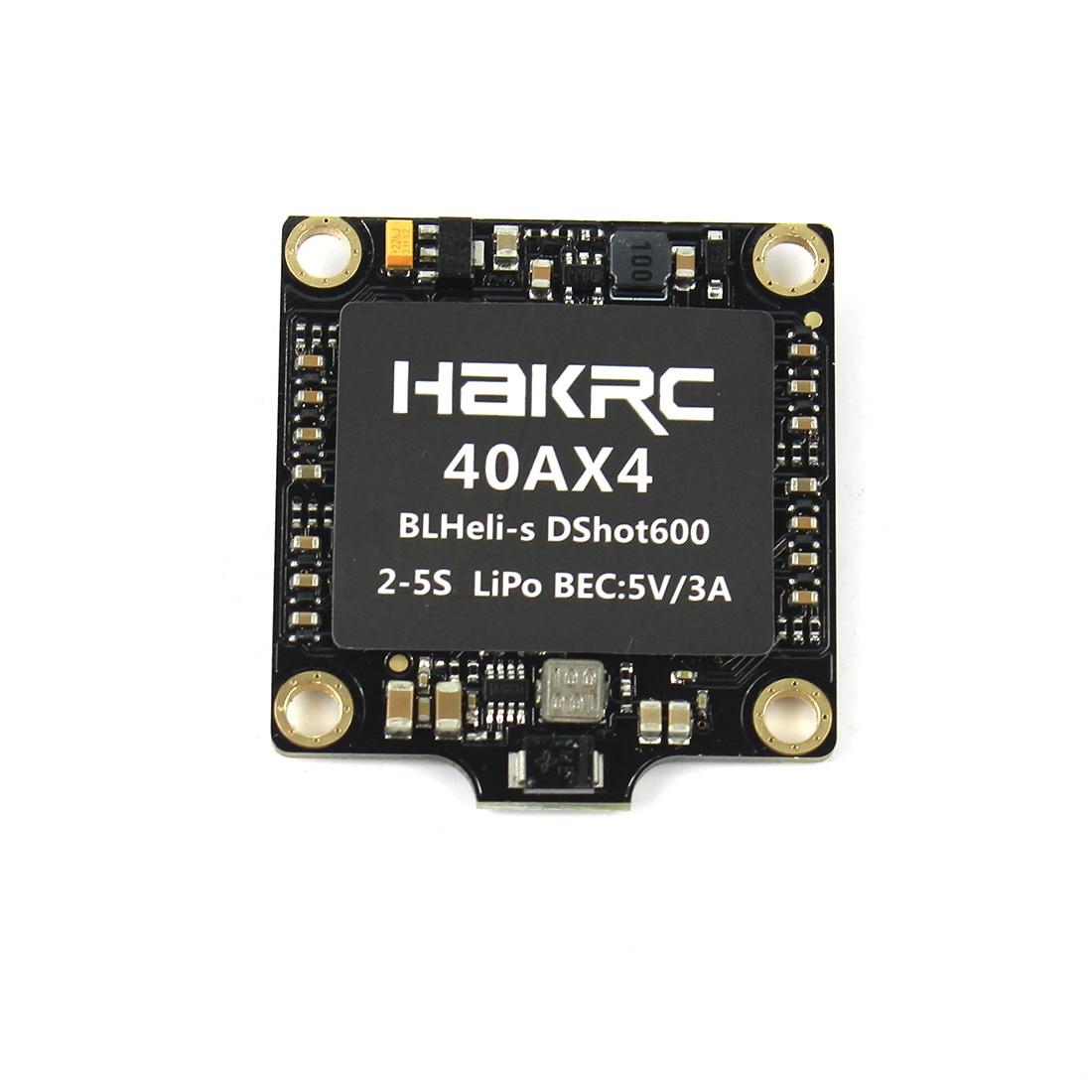 Hakrc 4 In 1 30A 40A Blheli S BB2 Dshot 150 300 600 Mini ESC Speed
