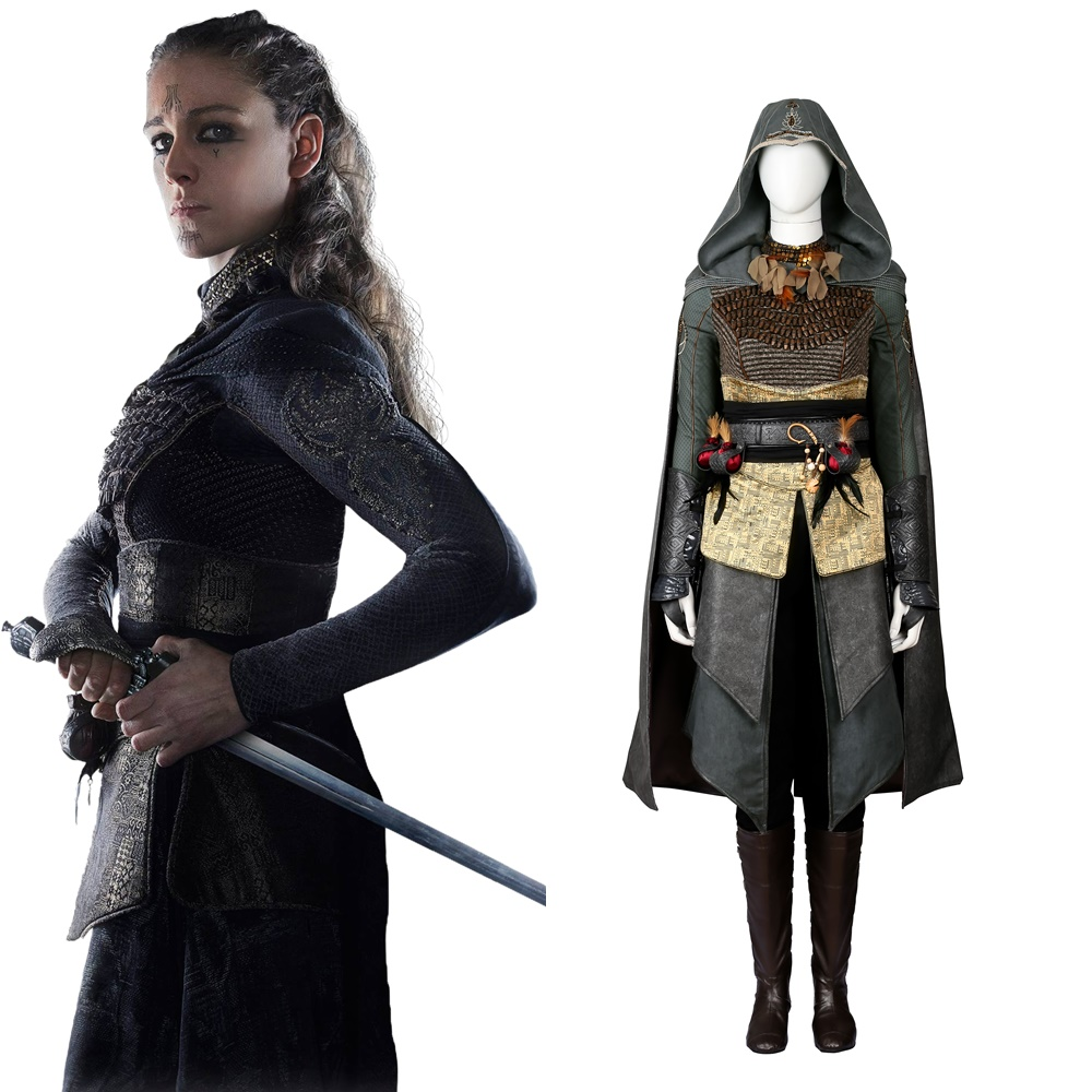 AC Movie Sophia Rikkin Cosplay Costume Halloween Outfit