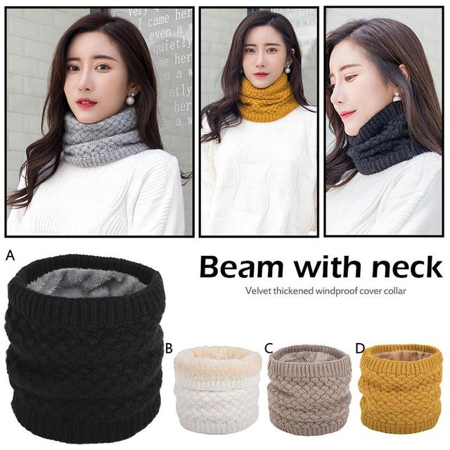 a9440a98 Winter Neck Warmer Tube Scarf Women Men Sport Skiing Wind Protection Mask  Snowboard Scarf Fleece Cover Neck Warm