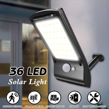 Solar Lights Outdoor 36 LED Super Bright Solar Lamp 280LM Mo