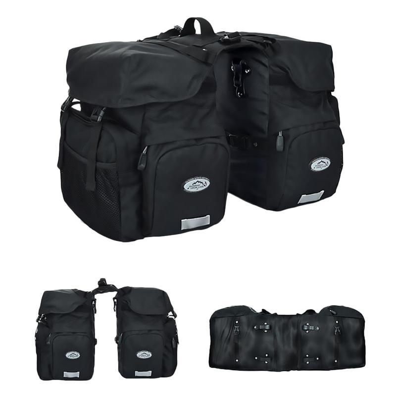 Sports de plein air équipement de cyclisme vélo arrière Rack siège sac vélo queue sac étanche bagages Pack sacoche coffre sac