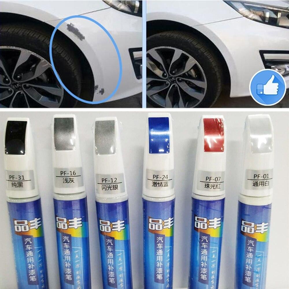 Outil de peinture de remplissage de voiture applicateur professionnel imperméable à l'eau retouche peinture de voiture peinture de réparation peinture grattoir dissolvant clair