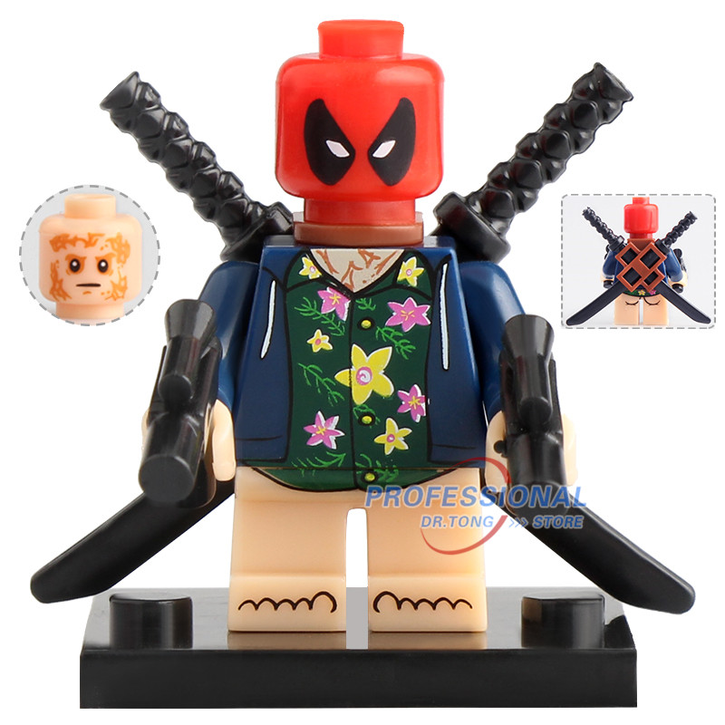 Blocks Single Legoings Marvel Super Hero Venom Carnage Spiderman Deadpool Action Figures Building Blocks Bricks Toys For Kids Gifts Toys & Hobbies