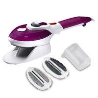 Vapor vestuário ue plug eletrodomésticos vapores verticais com escovas de vapor ferro para passar roupas para casa 220 v perfeito Vaporizadores de roupa     -