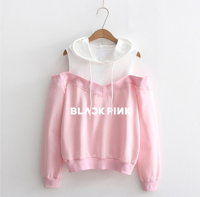 BLACKPINK Winter Autumn Hoodie For Women Exo Got7 Twice Sweatshirt Harajuku Ullzang Fans Pullover Printed Long