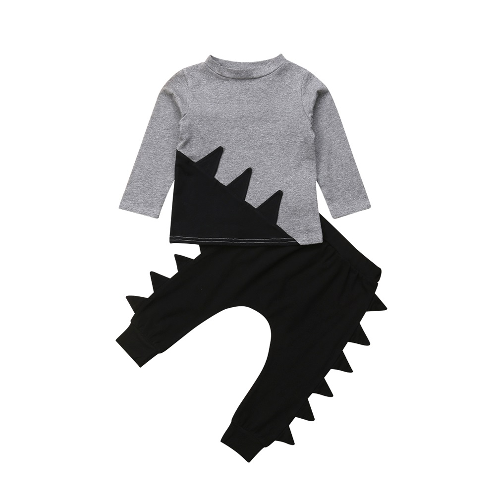 2019 spring autumn Baby Boy Clothes Set Children Clothing Sets Products Kids Clothes Baby Boys Long SleevesT-shirts+Pants 3PCS