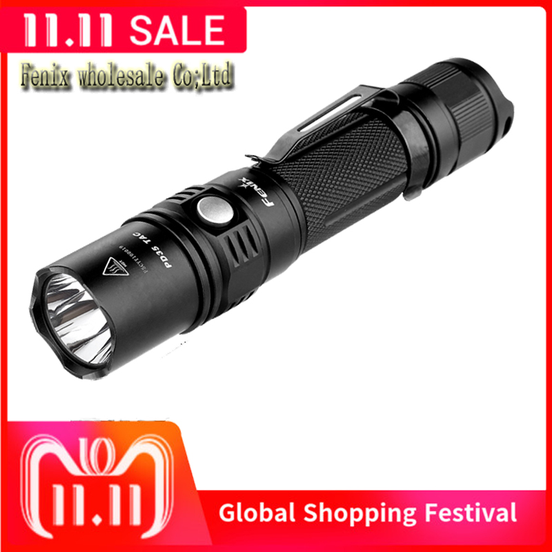 Free Shipping Fenix PD35 TAC 1000 Lumens PD35TAC Cree XP L LED Flashlights Tactical Outdoor