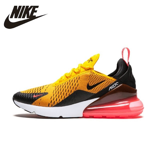 wholesale dealer bafac 609c4 NIKE Air Max 270 Original Mens Running Shoes Mesh Breathable Stability  Support Sports Sneakers For Men Shoes