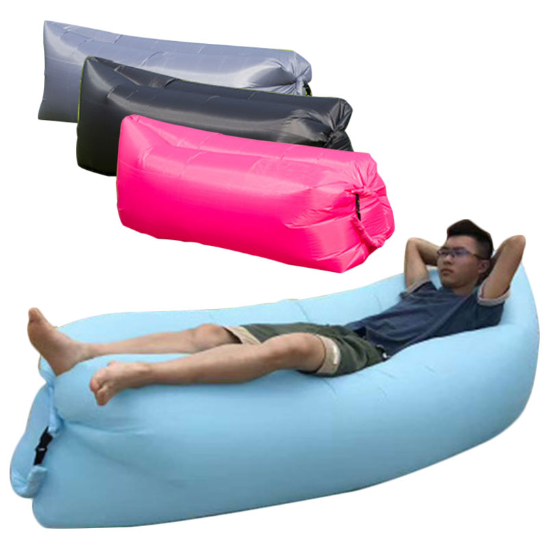Costumes & Accessories Reliable 3 Color 100cm Inflatable Sofa Colorful Glitters Air Mattress Beach Lounger Lazy Sleeping Bag Adult Children Pool Toy Party Props Soft And Light Costume Props
