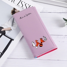 Womens Wallet Small Animal Cute 2 Fold Change Student Trend