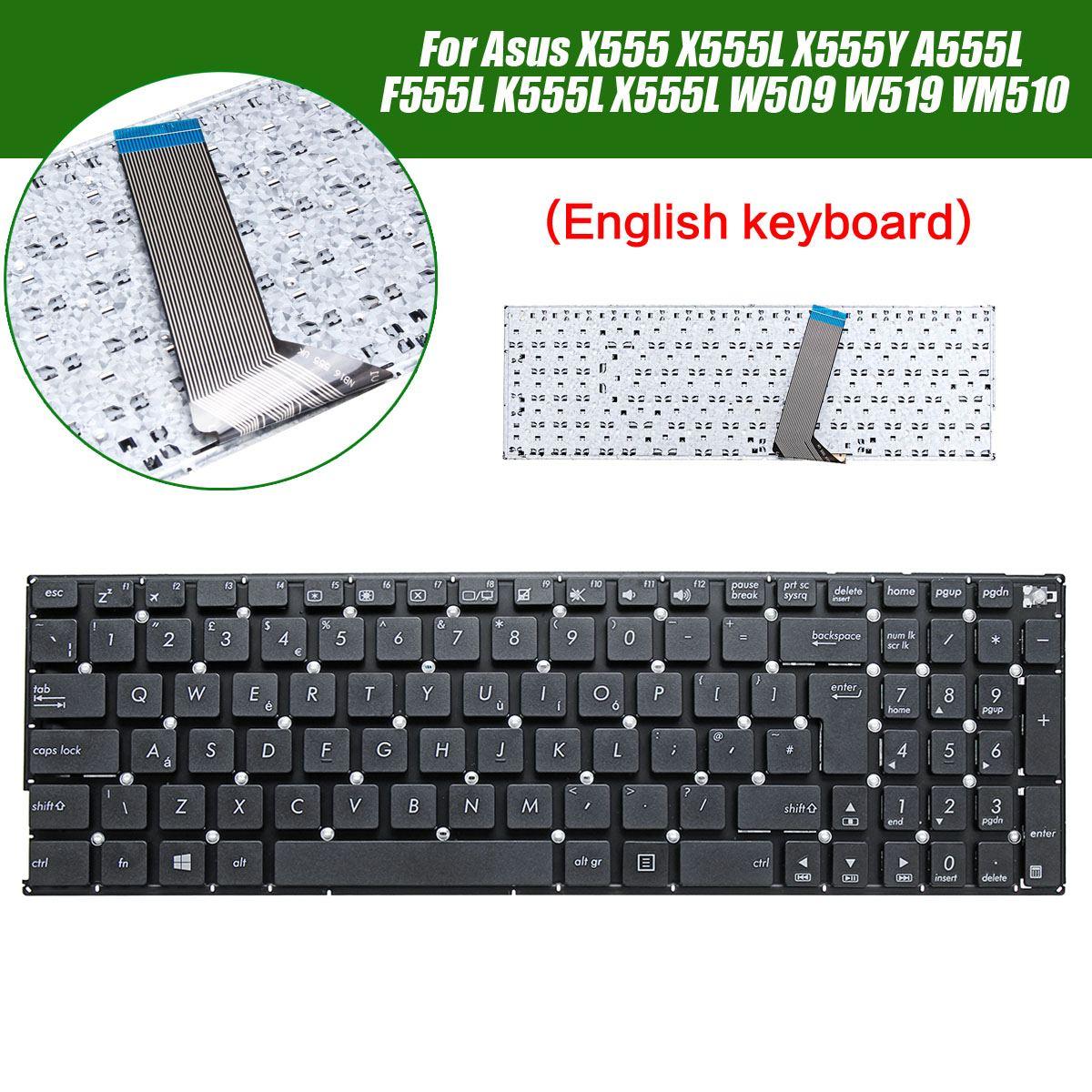 Laptop Keyboard For Asus X555 X555L X555Y A555L F555L K555L X555L W519 VM510 English Replacement Standard Keyboard