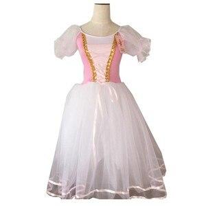 Image 3 - Déguisement de Ballet Tutu Giselle pour filles, robe longue en Tulle, en Tulle, ballerine à manches bouffantes, robe de chorale, nouvelle collection
