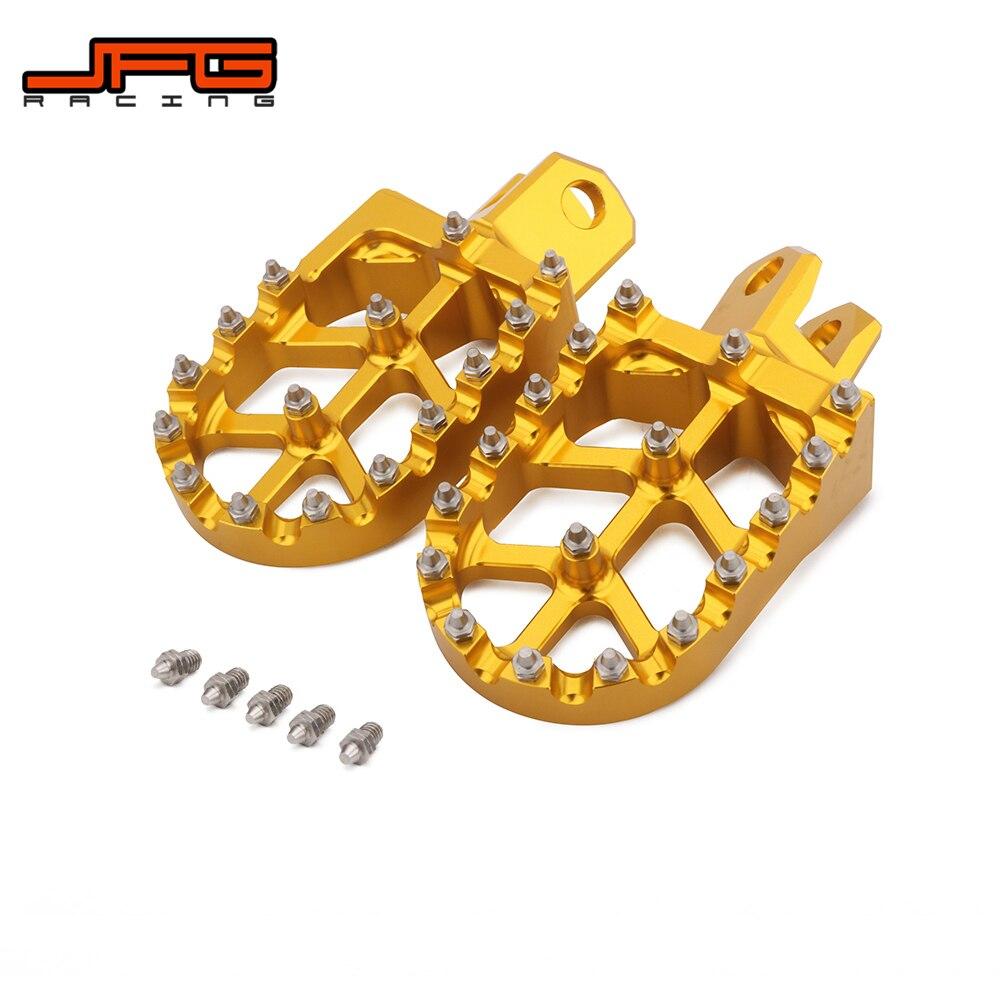 Motorcycle Foot Pegs FootRest Footpeg Pedal For SUZUKI RM125 RM250 RMX250S RMX250R DRZ400 DRZ400E DRZ400S DRZ400SM