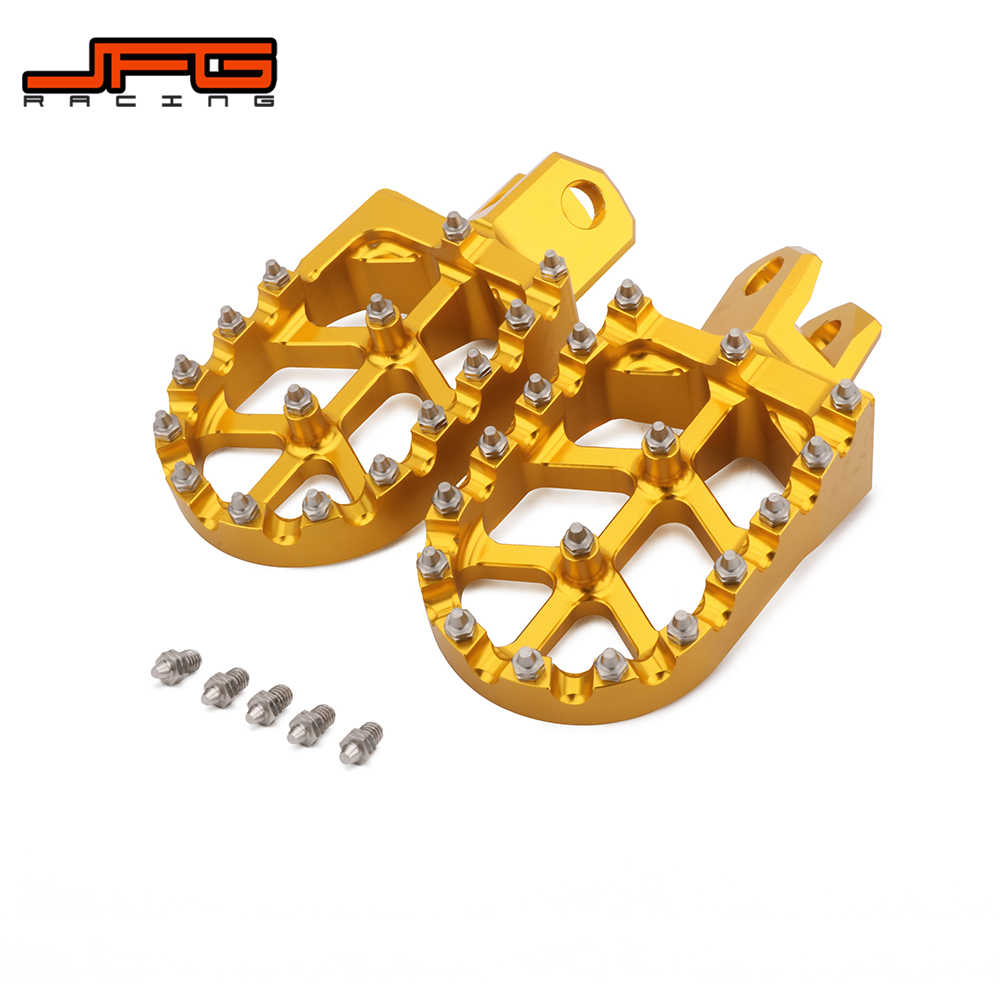 Miraculous Motorcycle Foot Pegs Footrest Footpeg Pedal For Suzuki Rm125 Theyellowbook Wood Chair Design Ideas Theyellowbookinfo