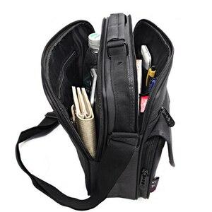 "Image 5 - Men Laptop Bag For Hp Lenovo Dell Ipad Acer 11"" 12"" 13"" 14"" 10"" 9"" Office Business Handbag Women Shoulder Bags Waterproof Oxford"