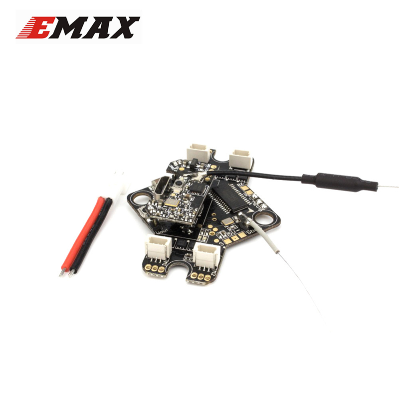 Emax Tinyhawk Indoor AIO Flight Controller VTX Receiver F4 4in1 3A for RC FPV Racing Drone