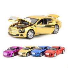 Metal Kembali Mainan/Bentley Skala/Diecast
