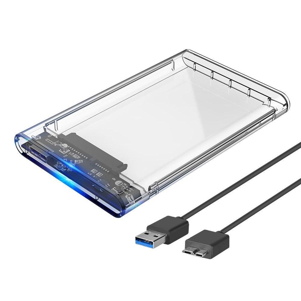 2.5 外部ハードディスクドライブの SSD/HDD キャディー USB 3.0 ポータブルソリッドステートハードディスクケース最大 2 テラバイトケースツール送料 5 ギガバイト